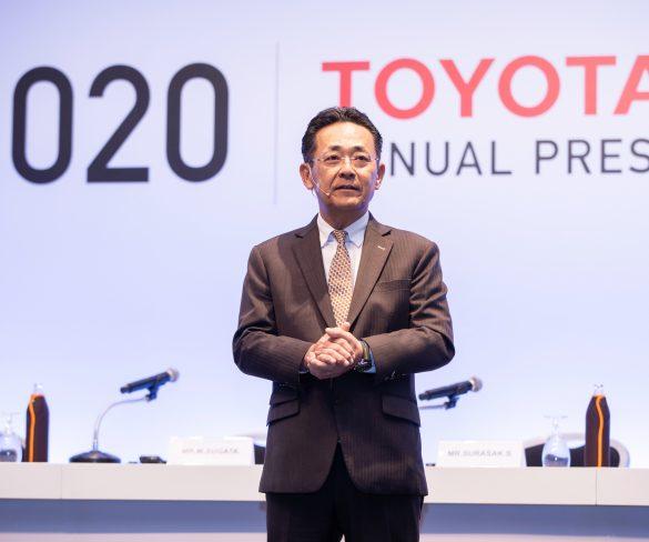 โตโยต้าแถลงยอดขายรถยนต์ปี 2562   คาดการณ์ตลาดรวมในประเทศปี 2563 อยู่ที่ 940,000 คัน