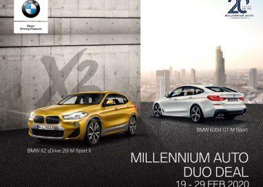 มิลเลนเนียม ออโต้ ฉลองครบรอบ 20 ปี มอบความพิเศษ สุดเอ็กซ์คลูซีฟ กับ BMW X2 และซีรีส์ 6 GT