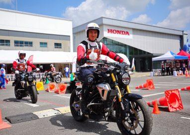ฮอนด้าสนับสนุนการแข่งขันขับขี่ปลอดภัยเจ้าหน้าที่ตำรวจระดับประเทศปีที่ 3