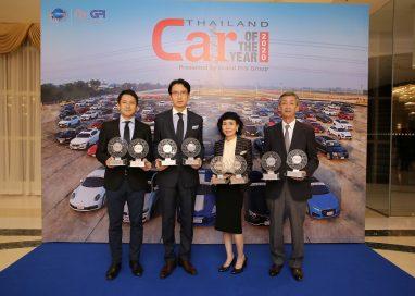 """อีซูซุรับรางวัลรถยอดเยี่ยมแห่งปี จากเวที """"CAR OF THE YEAR 2020""""  รวม 8 รางวัล"""