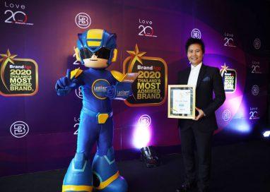 ฟิล์มลามิน่า คว้ารางวัล Thailand's Most Admired Brand 2020