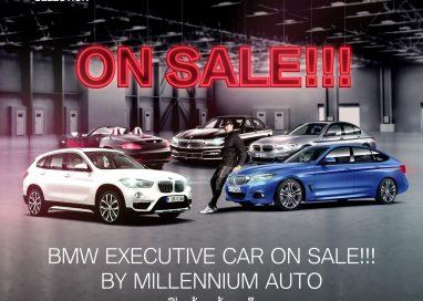 มิลเลนเนียม ออโต้ จัดโปรฯ แรง ขย่มตลาดรถหรู ยกทัพรถผู้บริหารป้ายแดง ไมล์น้อย กว่า 200 คัน มาจำหน่ายในราคาพิเศษสุด!