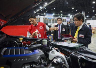 อีซูซุมุ่งมั่นพัฒนาบุคลากร จัดการแข่งขันทักษะด้านการขายและบริการหลังการขาย