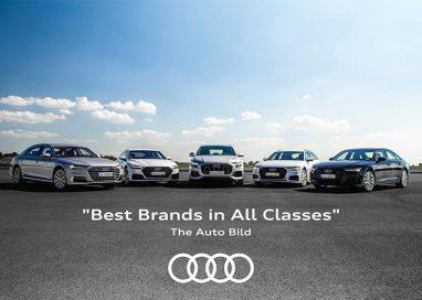 """ที่สุดแห่งแบรนด์ยนตรกรรมคุณภาพยอดเยี่ยม """"Best Brands in All Classes"""""""