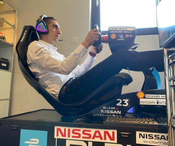ทีม Nissan e.dams ร่วมการแข่งขัน Virtual Formula E ครั้งแรก