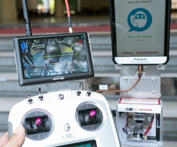 """กลุ่มอีซูซุสนับสนุน 5 ล้านบาท โครงการ """"CU-RoboCOVID"""" มอบหุ่นยนต์และอุปกรณ์สนับสนุนการแพทย์ในสถานการณ์ COVID-19 แก่โรงพยาบาลทั่วประเทศ"""