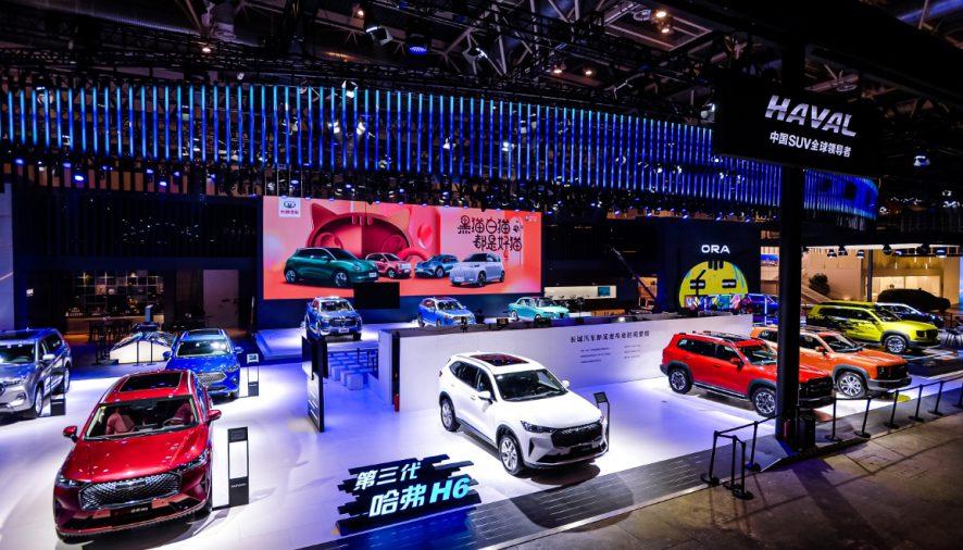 เกรท วอลล์ มอเตอร์ส นำทัพพาเหรดรถยนต์พร้อมด้วยเทคโนโลยีสุดล้ำ  ร่วมประชันในงาน Beijing International Automotive Exhibition 2020