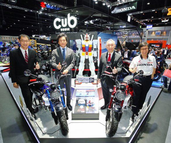 กันดั้มก็มา! ฮอนด้ายกทัพโมเดลใหม่บุก Motor Expo 2020