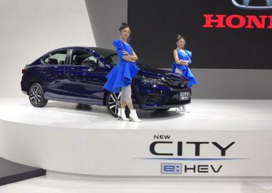 """ฮอนด้า ขนทัพยนตรกรรม จัดแสดงในงานมหกรรมยานยนต์ ครั้งที่ 37 นำโดย """"The City Series"""""""