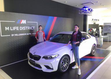 มิลเลนเนียม ออโต้ ชวนลูกค้ามาสัมผัสความแรงจาก BMW  M POWER