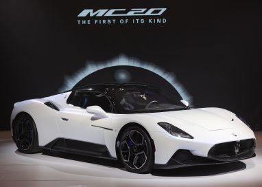 มาเซราติ 'MC20' เจ้าของรางวัลซูเปอร์คาร์สวยที่สุด แห่งปี 2021