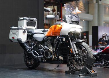 """""""ฮาร์ลีย์-เดวิดสัน"""" เผยโฉมรถมอเตอร์ไซค์ Pan America 1250 ครั้งแรกของเอเชียแปซิฟิก"""