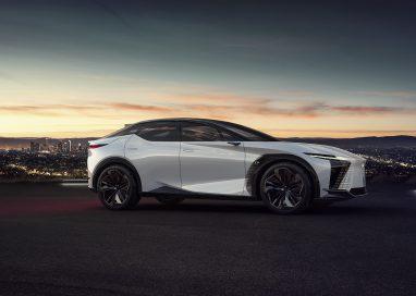 เลกซัสเดินหน้าสู่อนาคตรถยนต์ไฟฟ้าด้วยการเปิดตัวคอนเซปต์คาร์ LF-Z ครั้งแรกของโลก