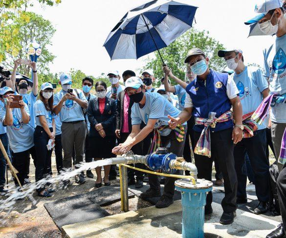 """อีซูซุเดินหน้าโครงการ """"อีซูซุให้น้ำ…เพื่อชีวิต"""" ปีที่ 9 สู่จังหวัดชลบุรี"""