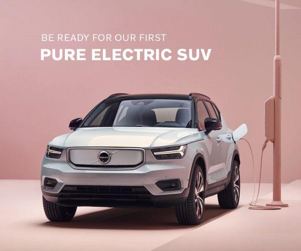 วอลโว่ คาร์ ประเทศไทย เปิดตัวเอสยูวีไฟฟ้า 100%  ครั้งแรกในประเทศไทยและอาเซียน  Volvo XC40 Recharge Pure Electric