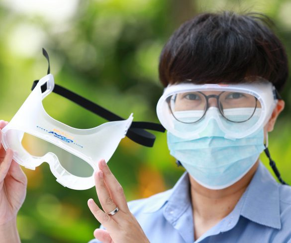 ฟอร์ดร่วมมือโพลีเน็ตส่งมอบแว่นตานิรภัย