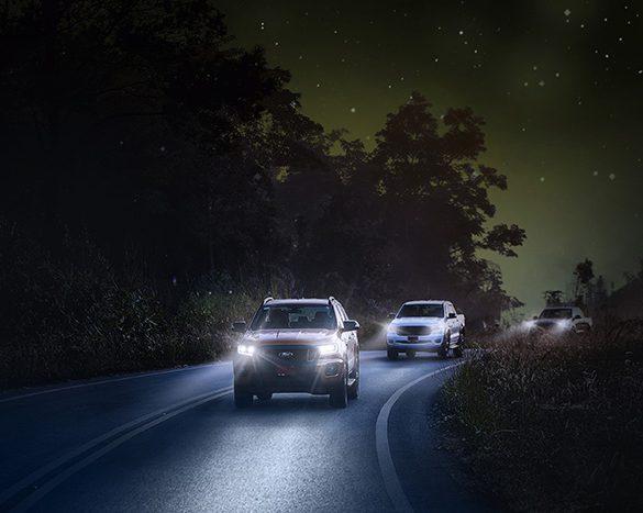 ฟอร์ดแนะเคล็ดลับขับขี่ปลอดภัยในเวลากลางคืน